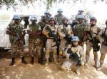 with rwanda army